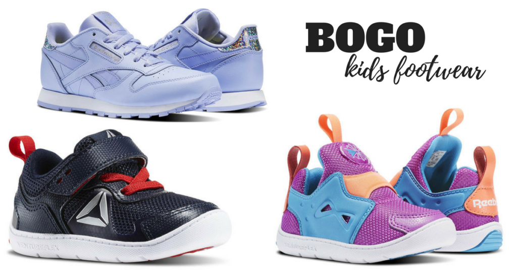 Reebok has Buy 1 Get 1 FREE Kids Footwear right now. Some shoes are already  marked down and with shoes starting at just  24.97 74bf3f171