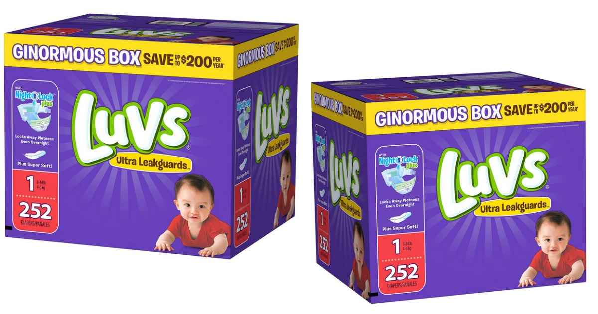 Sam S Club Luvs Diapers Big Box For 19 98 Southern Savers