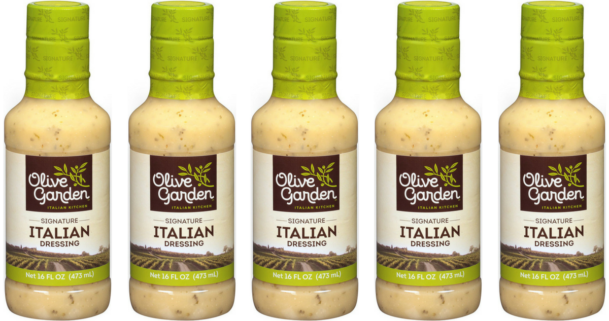 olive garden coupon makes salad dressing. Black Bedroom Furniture Sets. Home Design Ideas