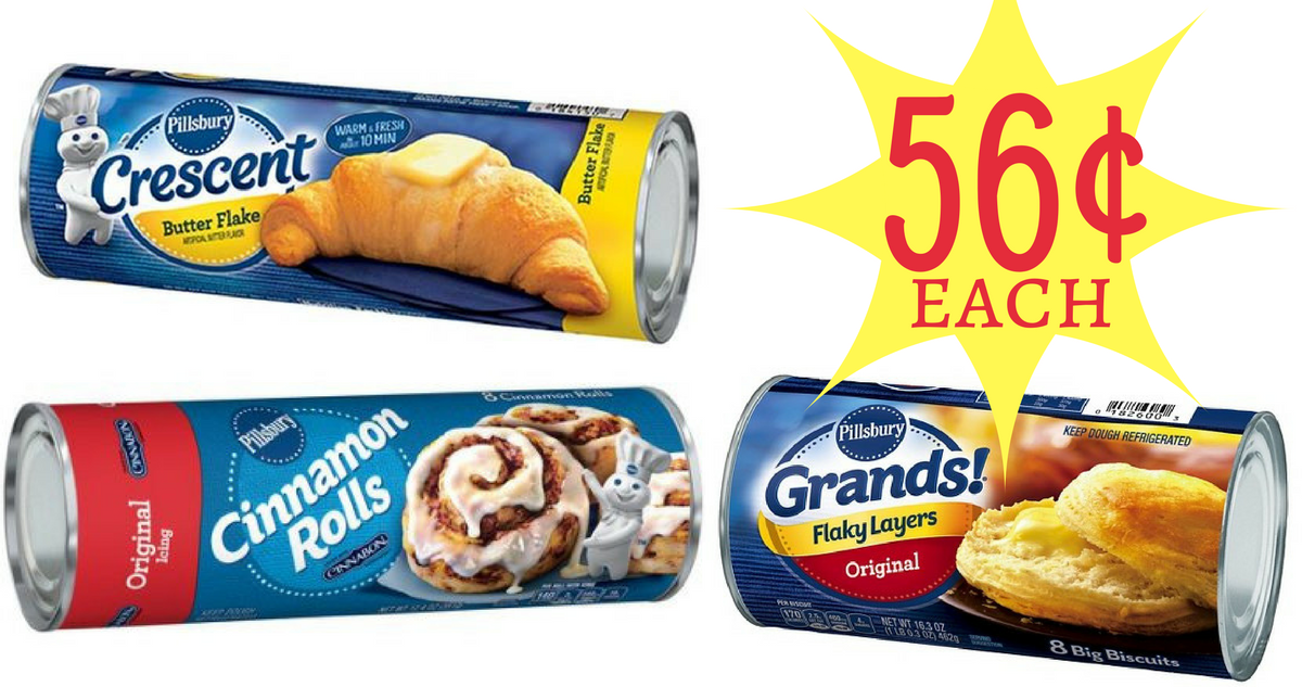Buy Here Pay Here Ct >> Pillsbury Coupon | Makes Refrigerated Baked Goods 56¢ Each :: Southern Savers