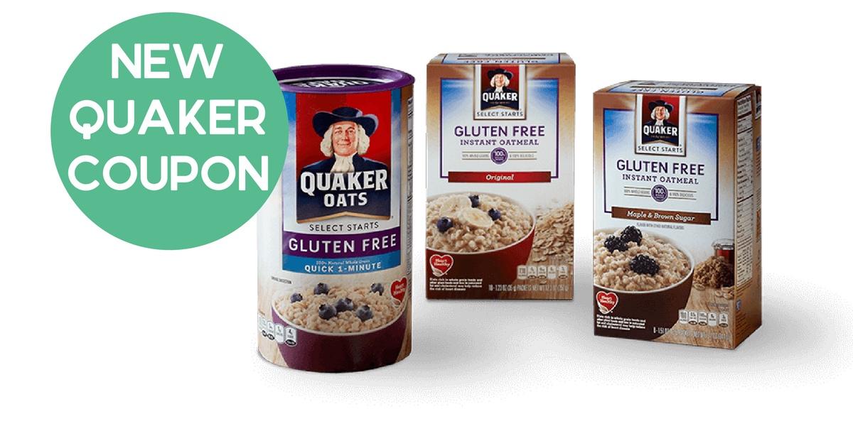 New Quaker Coupon Oatmeal Cereal Deals Southern Savers