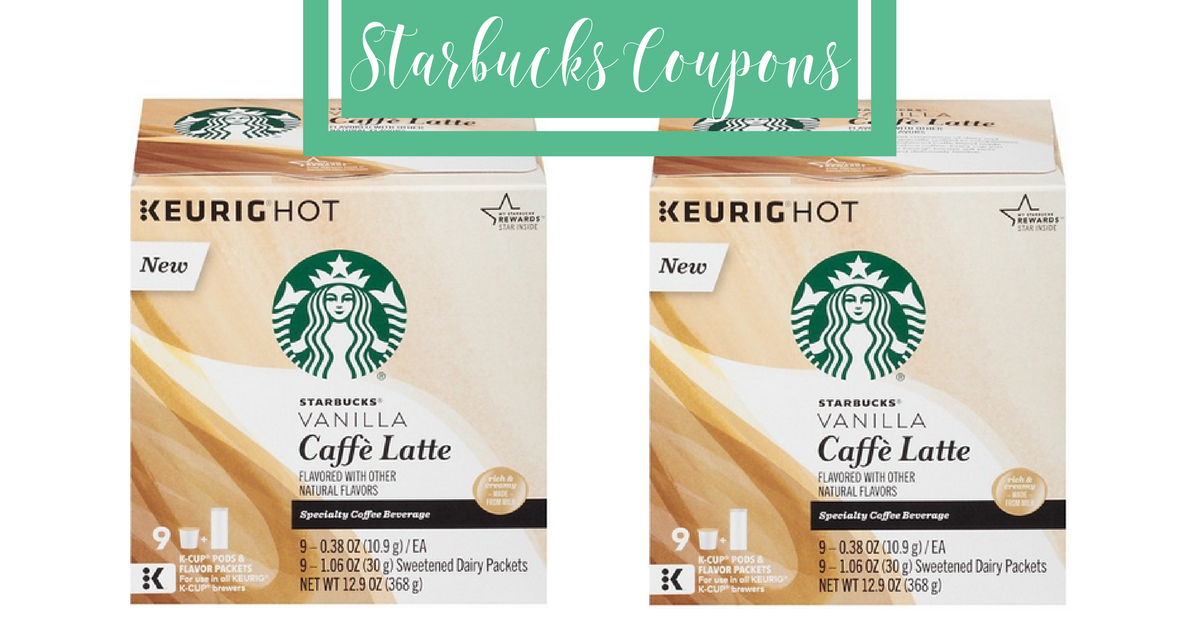 graphic relating to Starbucks Printable Coupons identified as Help save About $14 With Refreshing Starbucks Discount codes :: Southern Savers