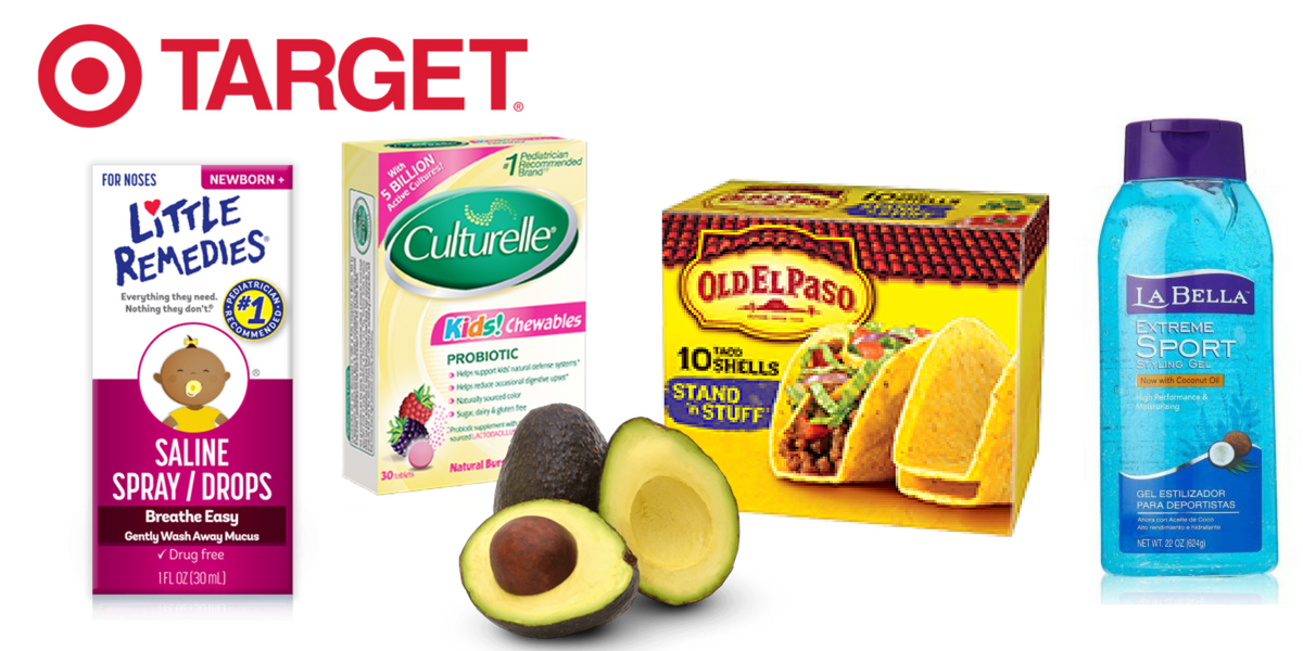 New Target Deals: Free Hair Styler, 46¢ Tacos & More