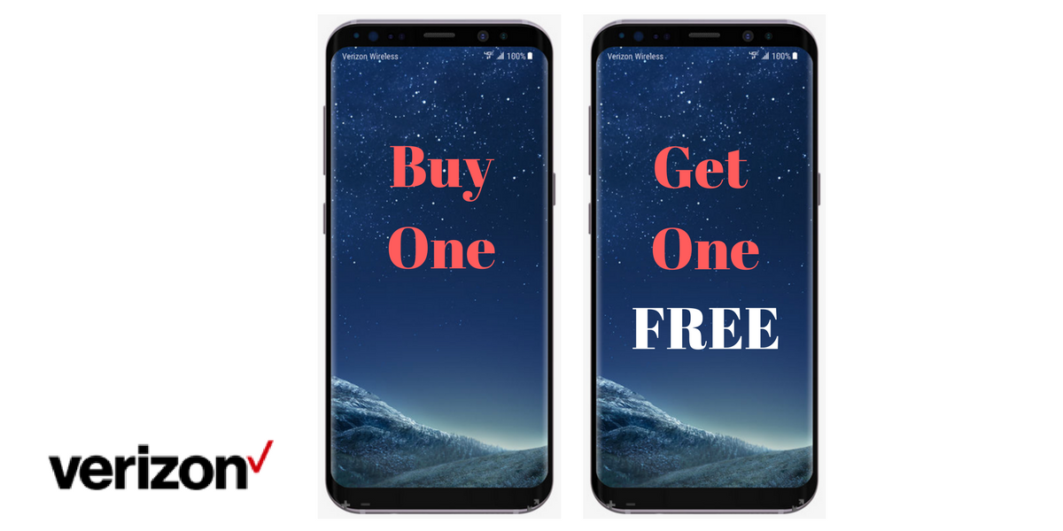 verzion offering bogo samsung s8 phones     southern savers