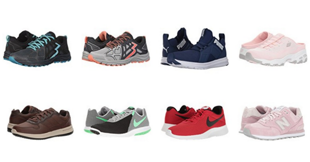 Head over to 6PM where you can get athletic shoes for up to 70% off. You  can also get free shipping on any two items or with a purchase of $50 or  more.