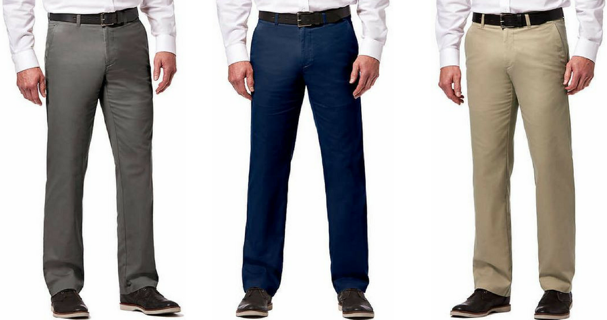 Bi Lo Stores >> Costco Deal | Men's Haggar Stretch Chino Pants, $17.99 ...
