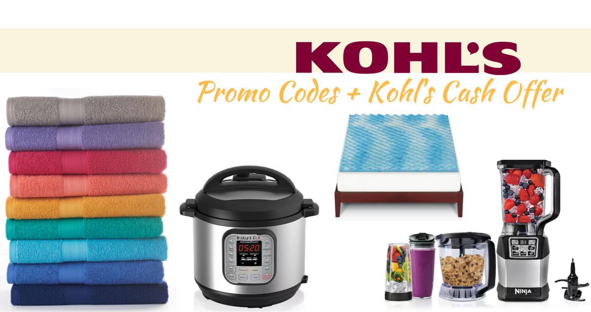 kohl's coupon codes