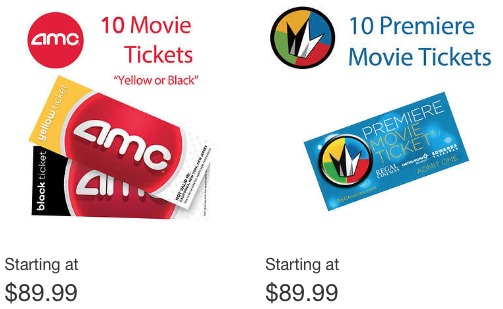 Costco Also Has Movie 4 Or 10 Pack Ticket Deals For AMC Cinemark And Regal Theaters They Even Have A Deal On The Much Talked About MoviePass