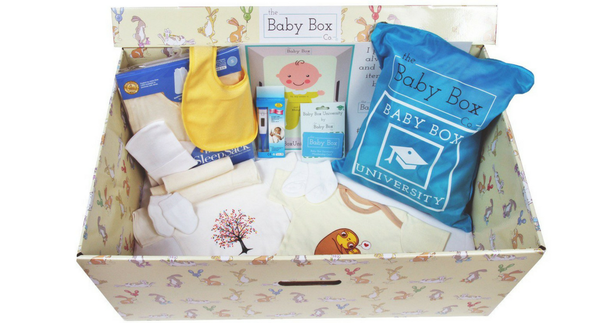 Baby Box University Free Baby Box Southern Savers