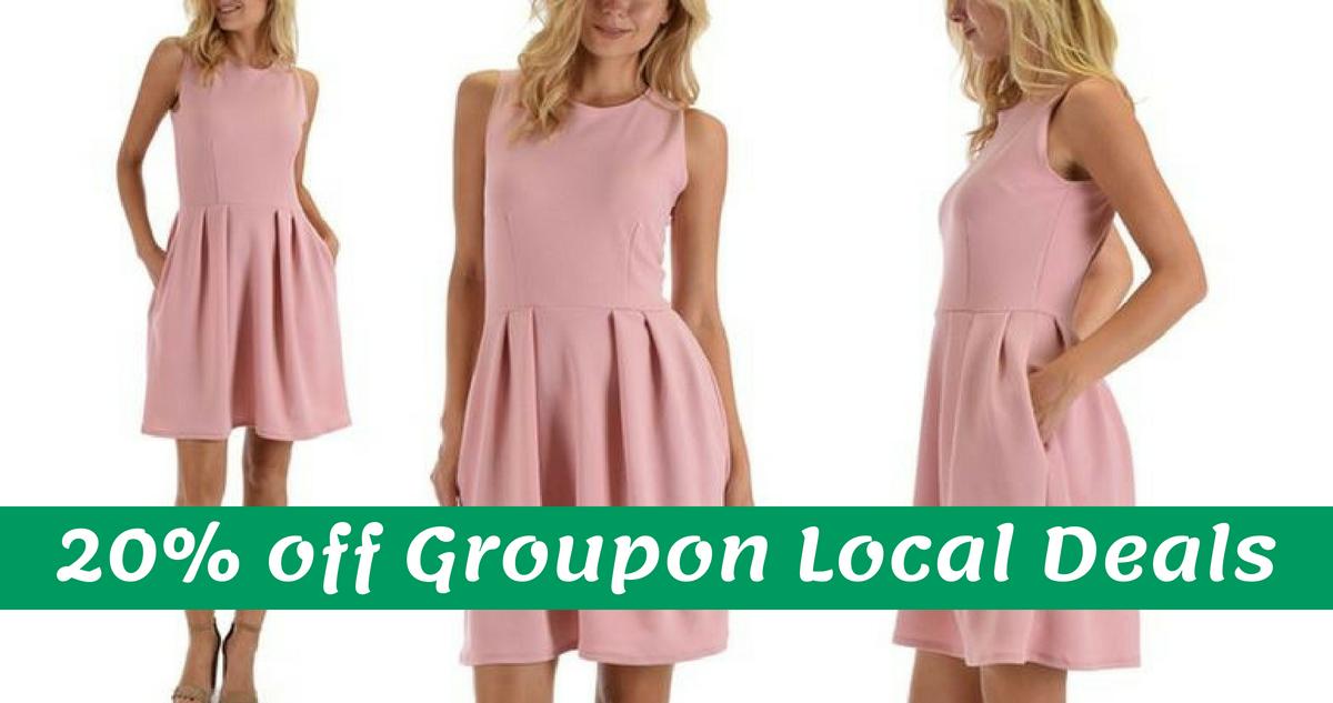 Groupon Coupon Code | 20% off Local & 10% off Goods