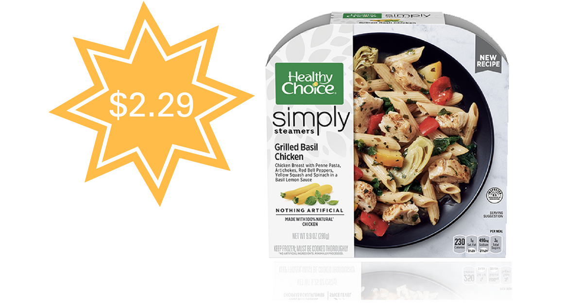 Healthy Choice Frozen Dinner Coupons