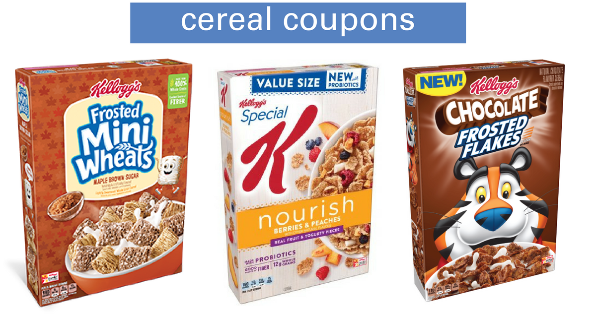 We often see Kellogg's cereal coupons between $ off and $ off. Get the best price on Kellogg's cereal, Pop-Tarts or bars by combining a.