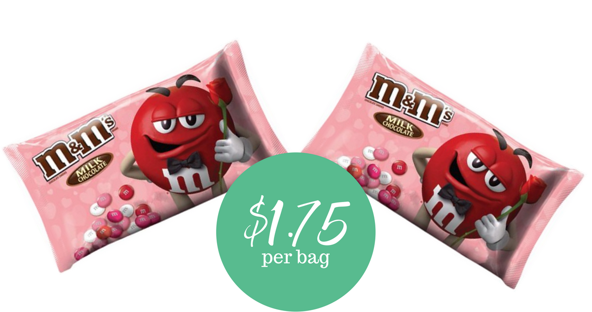 MampMs Valentines Day Candy 175 Per Bag Southern Savers