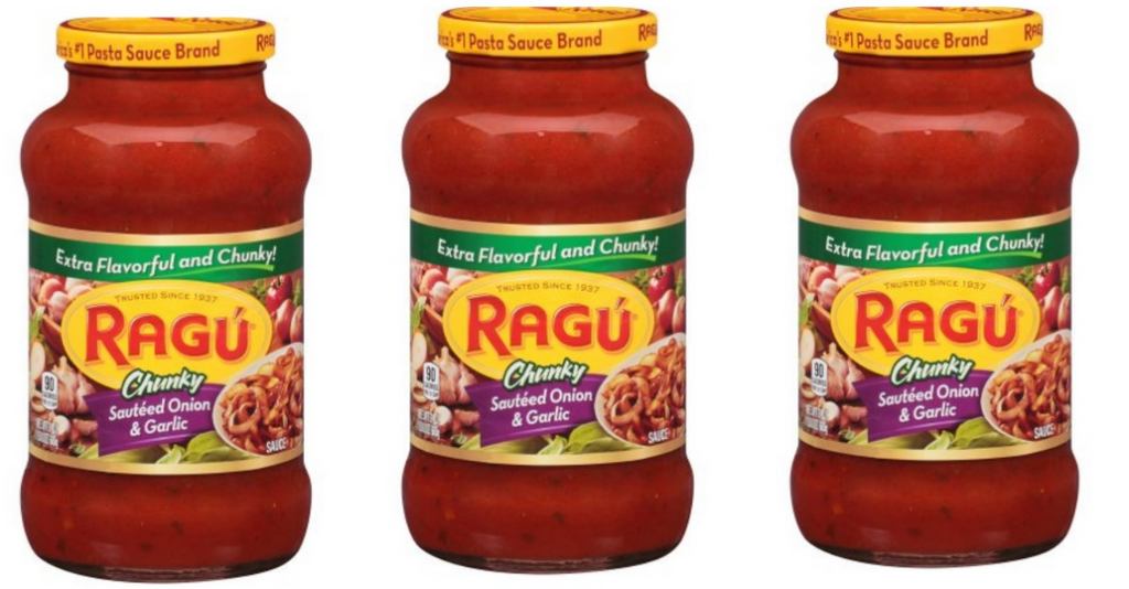 graphic relating to Ragu Printable Coupons named Ragu Discount codes 77¢ Pasta Sauce :: Southern Savers