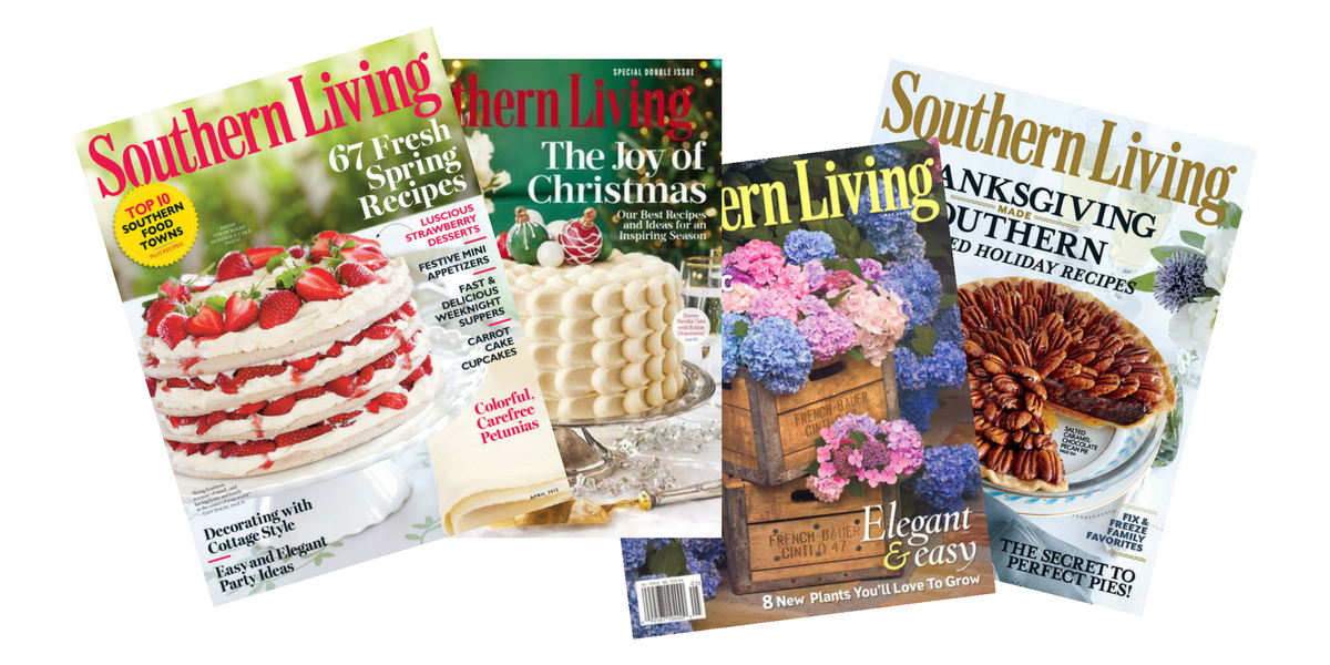 Pleasing 1 Year Southern Living Magazine Subscription For 5 Download Free Architecture Designs Lukepmadebymaigaardcom