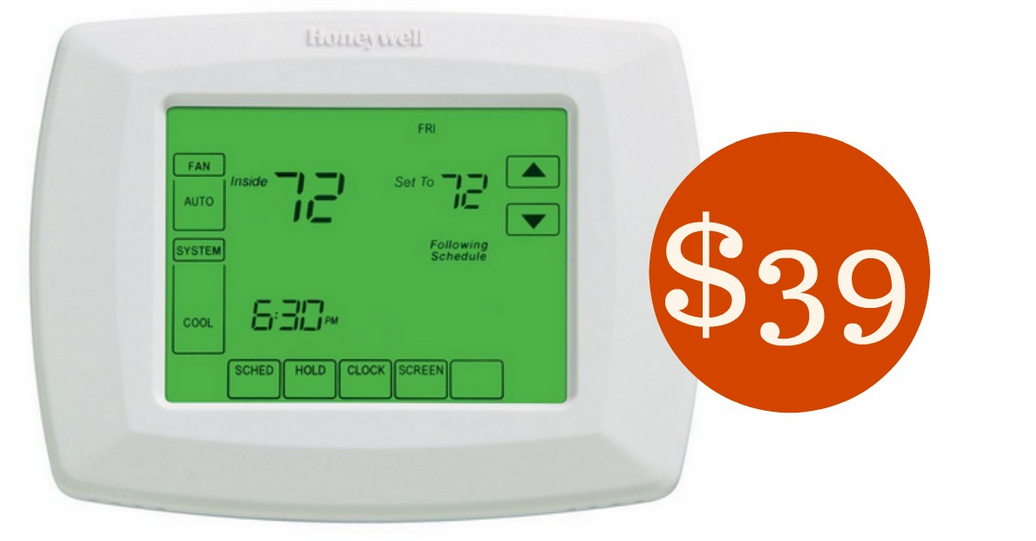 Honeywell Touchscreen Programmable Thermostat For  39    Southern Savers