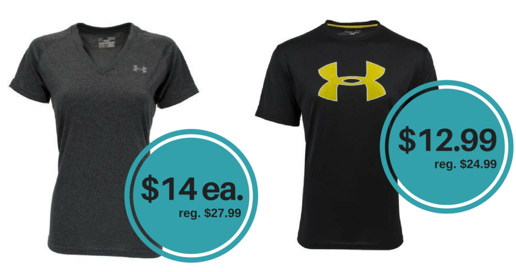 Under Armour Promo Code  50% Off Women s and Men s T-Shirts ... 4622541ccb
