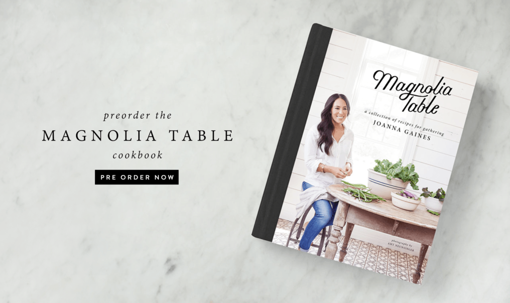 Joannau0027s New Cookbook, Magnolia Table: A Collection Of Recipes For  Gathering, Is Available For Pre Order Right Now From ...