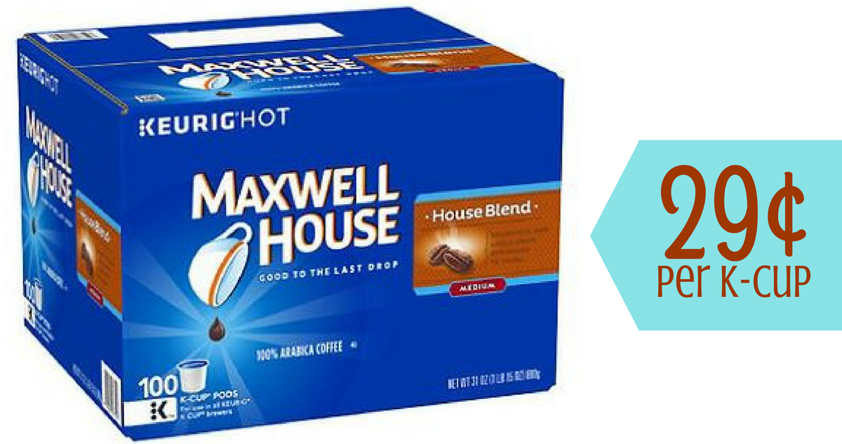 Delivery estimates, taxes, and fees are based on ZIP Code. Club Pickup orders are based on your club's current price and item availability on the day of payment. Maxwell House's Breakfast Blend is custom roasted for full flavor, then sealed in pods to keep it fresh. That means every cup is good.