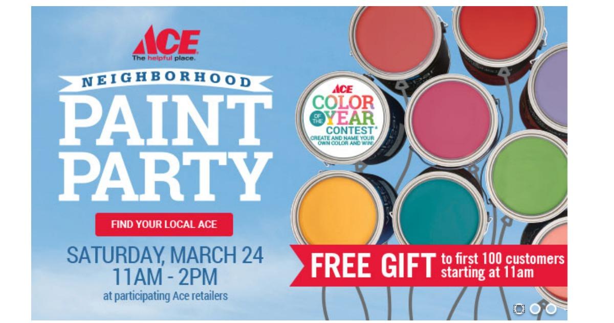 Lowes Paint App >> Ace Hardware | BOGO Paint Sale :: Southern Savers