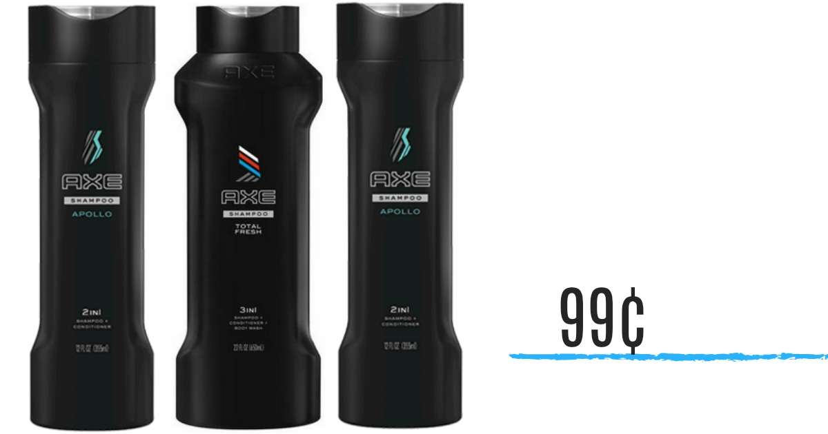 Axe Coupon | 99¢ Shampoo or Conditioner :: Southern Savers | 1200 x 630 jpeg 30kB