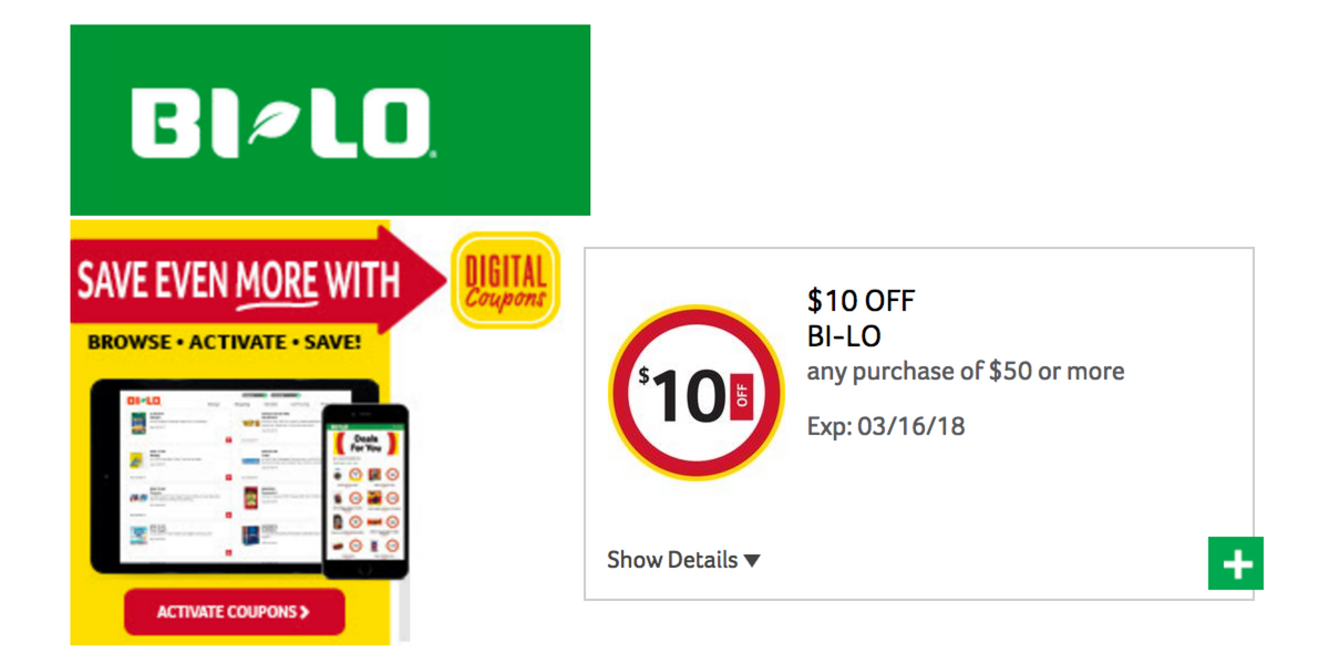 Coupons of 50¢ or less will be doubled, except on tobacco products, alcoholic beverages, FREE items or Ingles coupons. Double value cannot exceed the price of the item. Double coupon savings start with each $10 purchase.
