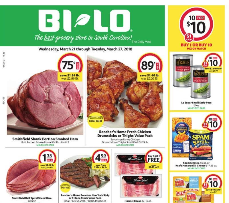 BiLo Weekly Ad 321327 Southern Savers