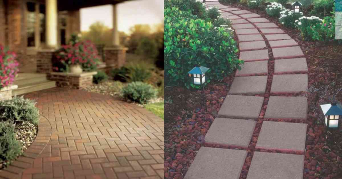 Lowe's Deals: Brick Pavers for 25¢ + More :: Southern Savers on Backyard Brick Pavers id=20408