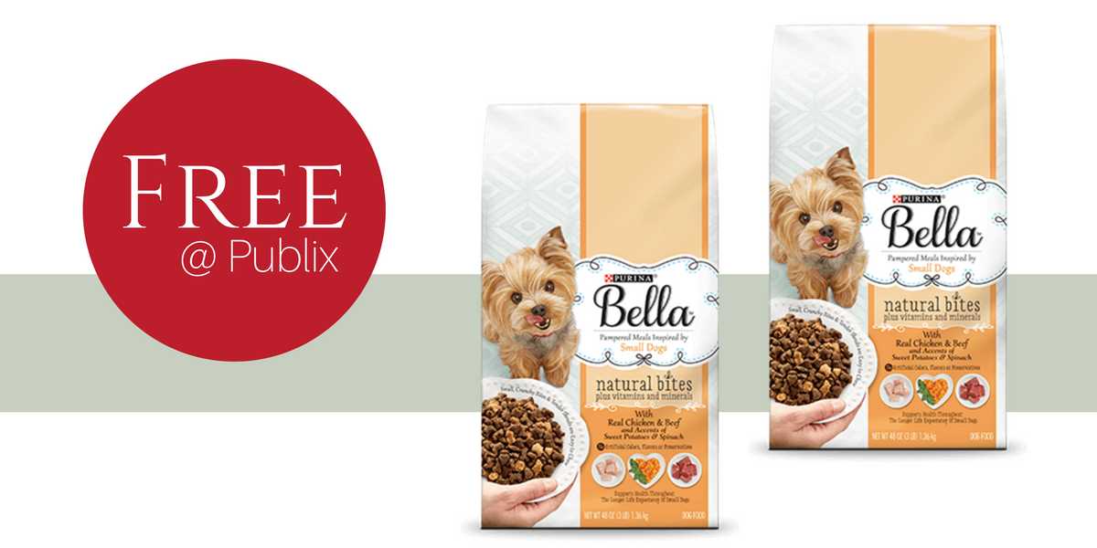 free purina bella dog food at publix     southern savers