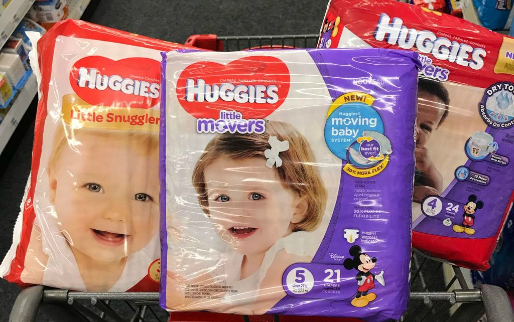 picture regarding Printable Coupons for Huggies Diapers identified as Huggies Diapers for $5.49 + Totally free Kleenex Wipes at CVS
