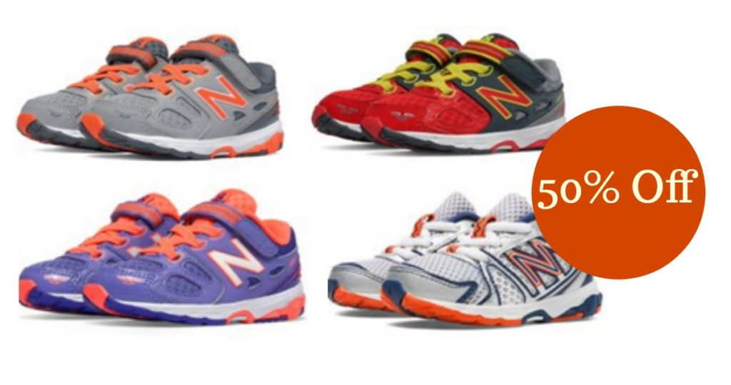e6ce401438f16 Head over to Joe's New Balance Outlet where you can get 50% off Kids'  Footwear and Apparel.