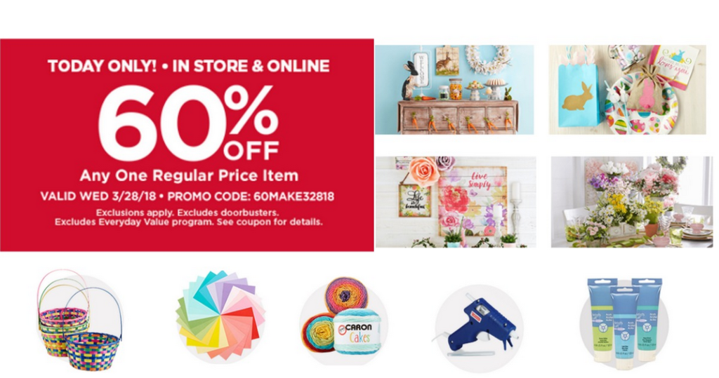 Michael S Coupon 60 Off One Regular Price Item Southern Savers