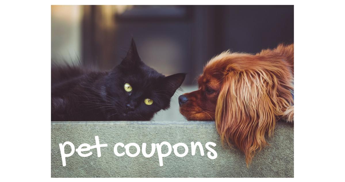pet coupons