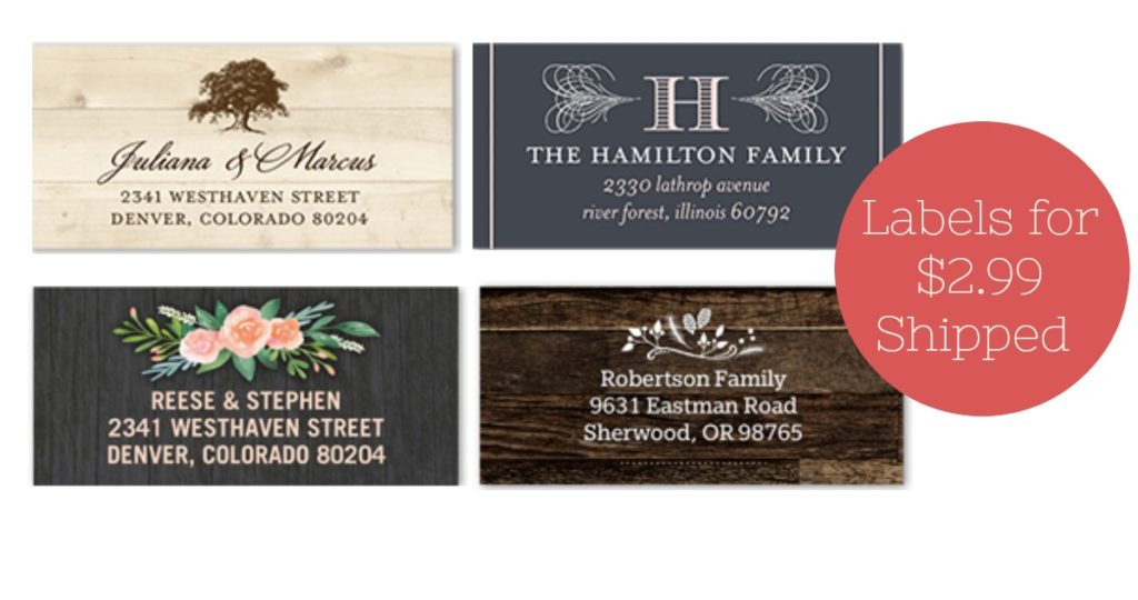 Shutterfly Code | Address Labels for $2 99 Shipped