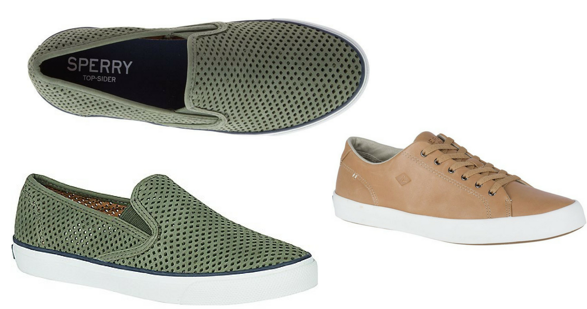 92e748898d6 Sperry's Flash Sale: Sneakers for $23 Shipped :: Southern Savers