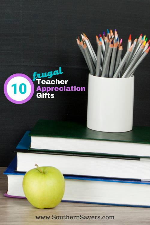 Are you dreaming of summer vacation? I bet your kids' teachers are even more! Here are my top 10 frugal teacher appreciation gifts.