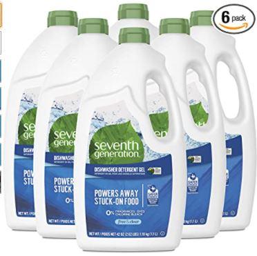 seventh generation dishwashing detergent