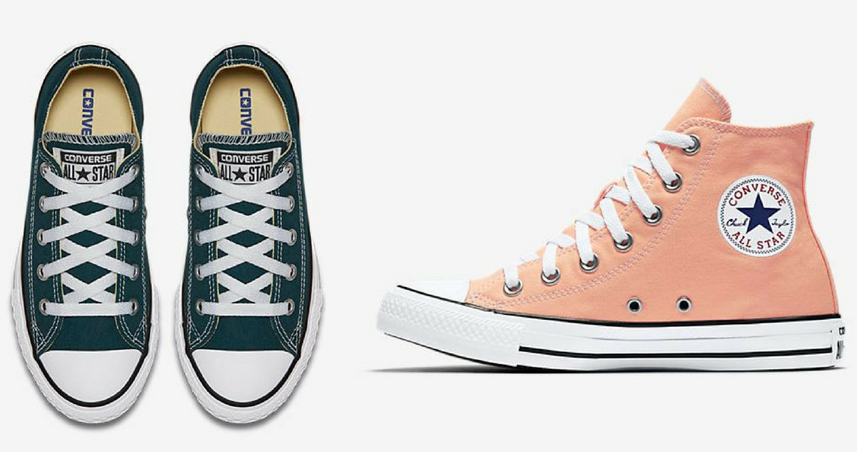 2c65db21c8b6 Get a good deal on kids  Converse shoes with this deal from JCPenney! Right  now they re offering a B1G1 50% off sale on select kids  Converse.