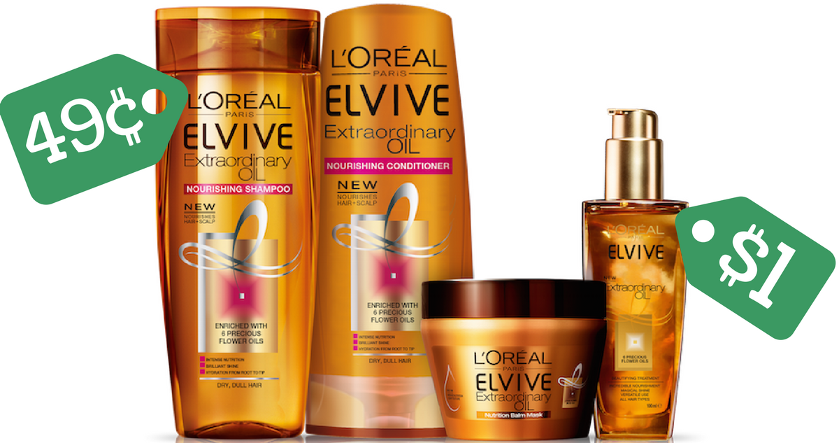 L Oreal Coupon Elvive Shampoo Or Conditioner 32