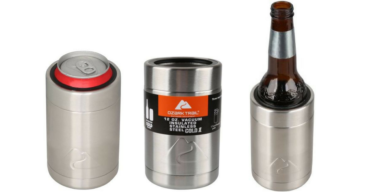 782c5ca0b20 Walmart is offering up the Ozark Trail Can Cooler Koozies for as low as $3  each! These will keep your canned beverages cool for hours.