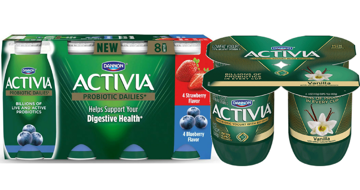 Activia yogurt coupons