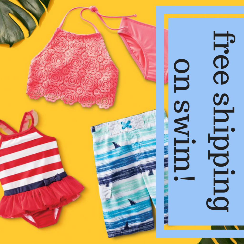 efca7dc975f Need new swimwear? Head to Target for deals. Even better: shipping is FREE  on all swimsuit orders.