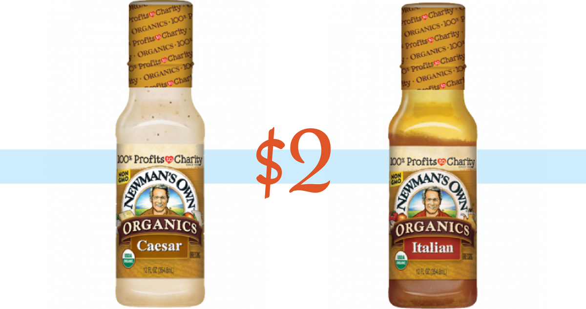 Target Black Friday 2018 Ad >> Newman's Own Coupon | Makes Organic Salad Dressing $2 :: Southern Savers