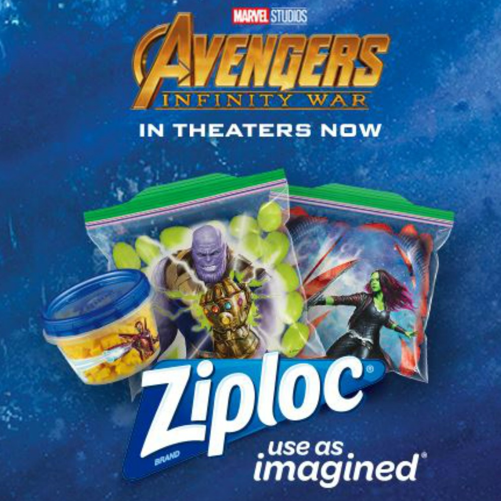 photo about Ziploc Printable Coupons named Ziploc Discount codes Would make Snack Luggage $2.29 + $9 Fandango Video clip