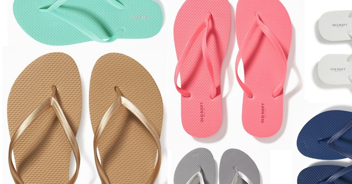 fadde25da Old Navy  1 Flip-Flop Sale Is On 6 23!    Southern Savers
