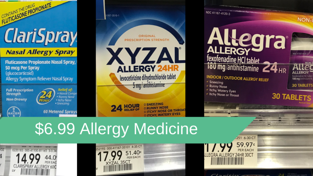 picture regarding Zyrtec Printable Coupon $10 identified as $6.99 Allergy Prescription drugs Bargains - This Weekend Just :: Southern