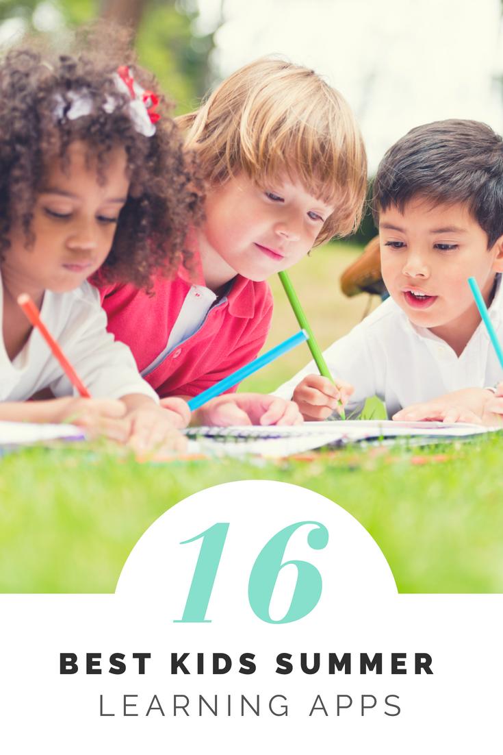 best kids summer learning apps