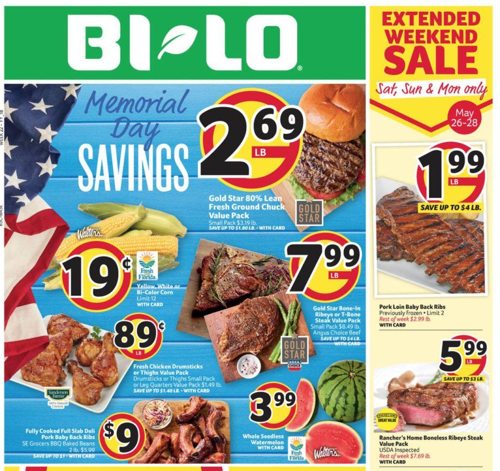 Bi-Lo Weekly Ad 5/23-5/29 :: Southern Savers