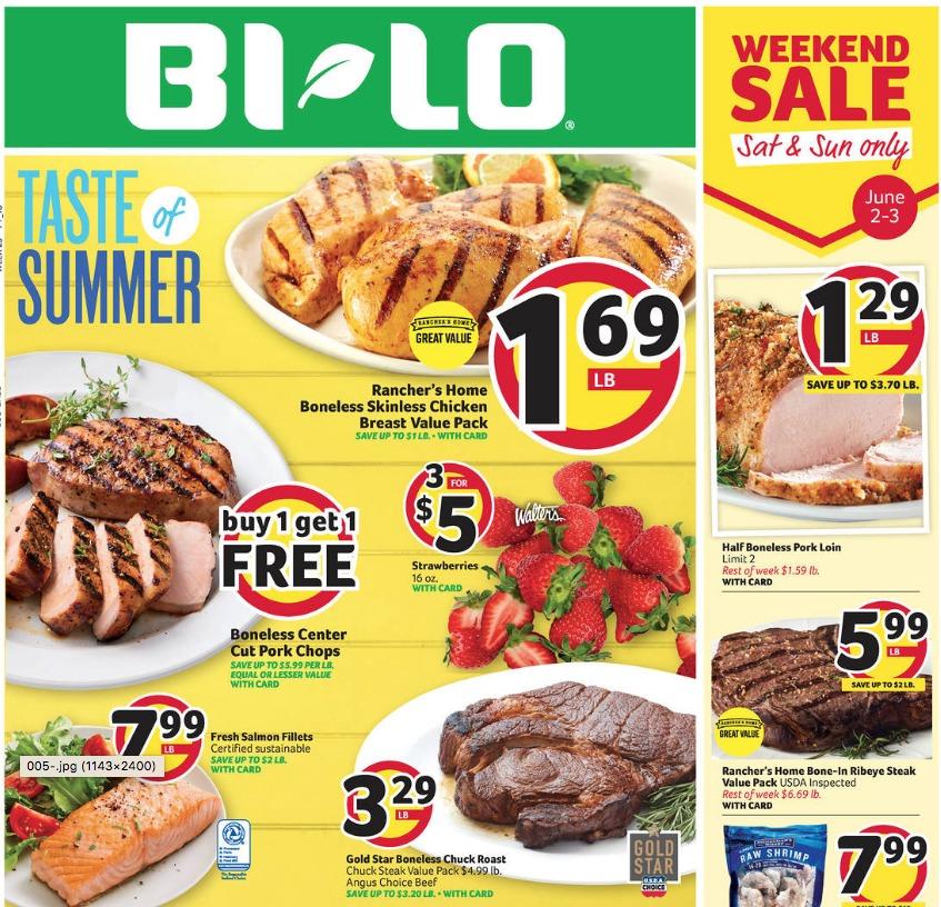 BiLo Weekly Ad 53065 Southern Savers