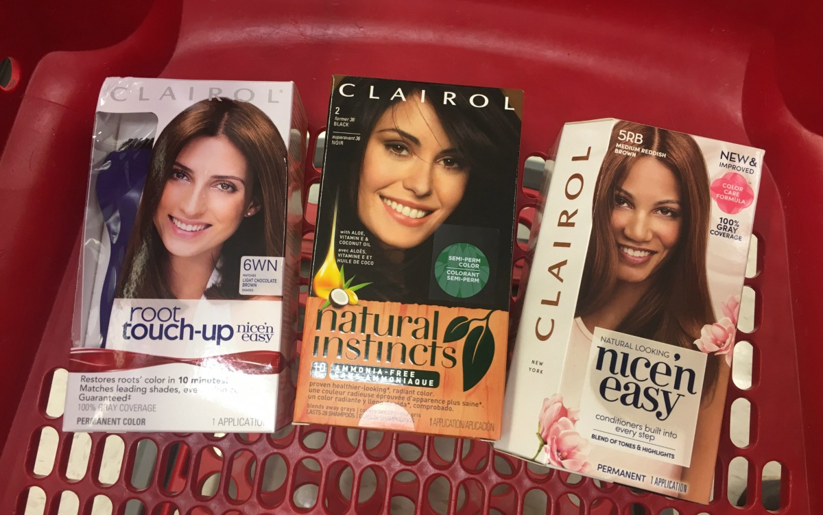Money Maker Clairol Hair Color Other Target Personal Care Deals